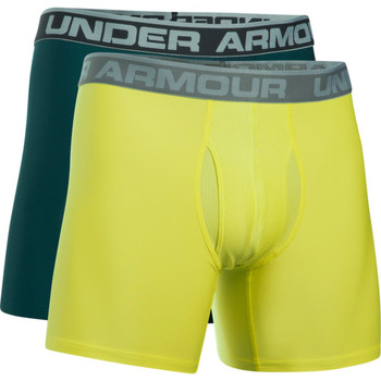 Vêtements Homme Boxers / Caleçons Under Armour Boxers UA Original 6 (Lot x2) Green 919