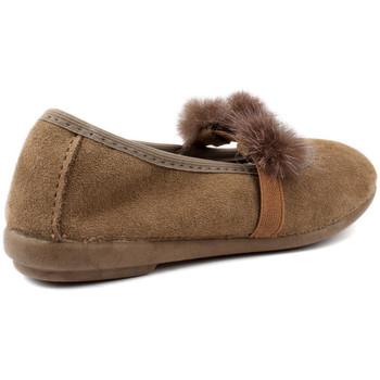 Chaussures Enfant Ballerines / babies Vulladi PEUT SERRAJE POMPONES MARRON