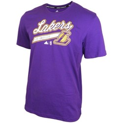 Vêtements Homme T-shirts manches courtes adidas Originals Los Angeles Laker Price PT Bleu marine