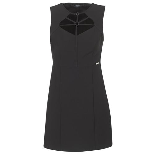 Vêtements Femme Robes courtes Guess SLOREPA Noir