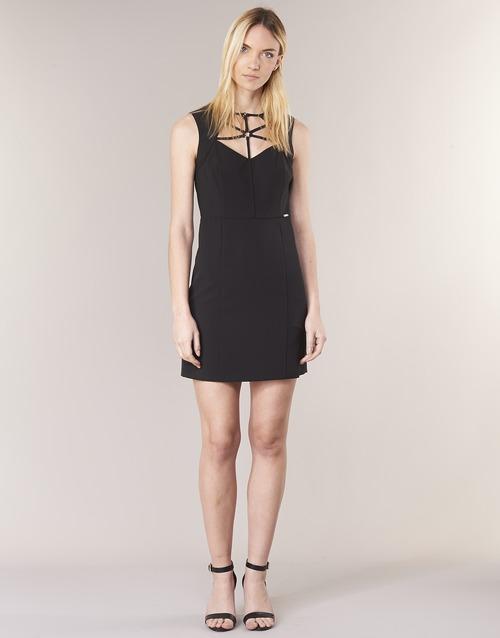 SLOREPA  Guess  robes courtes  femme  noir