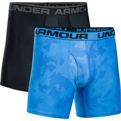 Vêtements Homme Boxers / Caleçons Under Armour UA Original Series Printed BoxerJock (Lot x2) Blue 983
