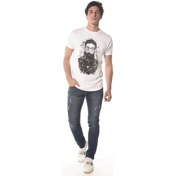 Vêtements Homme T-shirts manches courtes Deeluxe Tee Shirt hipster Clyde blanc