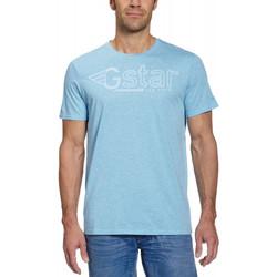 Vêtements Homme T-shirts manches courtes G-Star Raw T-Shirt Climber Solar Blue Bleu