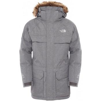 Vêtements Garçon Parkas The North Face Parka  Mc Murdo Junior - Ref. T0CSF462X Gris