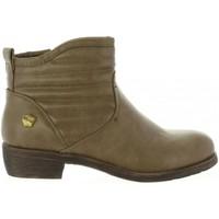 Chaussures Fille Bottines Cheiw 46033 Beige