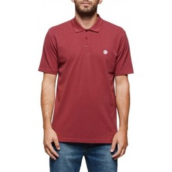 Vêtements Homme Polos manches courtes Element Polo  Freddie - Oxblood Red Rouge
