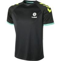 Vêtements Homme T-shirts manches courtes Hummel Maillot  Trophy noir/vert/jaune