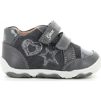 Chaussures Fille Ville basse Geox NEW BALU' B740QC Gris