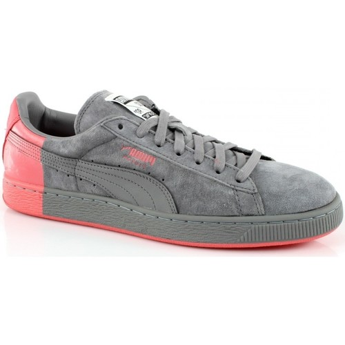 Chaussures Femme Baskets basses Puma CREAM2 SUEDE X STAPLE Gris