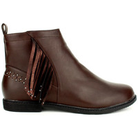 Chaussures Femme Boots Cendriyon Bottines Marron Chaussures Femme Marron