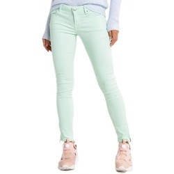 Vêtements Femme Jeans skinny Guess Jean Slim Marylin 3 zip Menthe (sp) Vert 1114e9f1d3bc