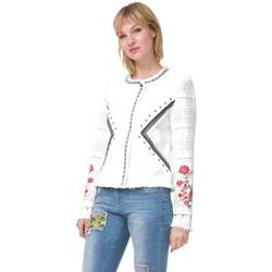 Vêtements Femme Blousons Desigual Veste Chase 72E2YG4 Blanc (sp) Blanc