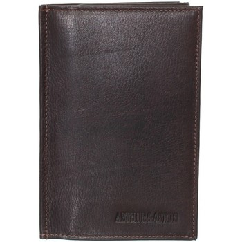 Sacs Homme Portefeuilles Arthur & Aston Porte-papiers Arthur et Aston en cuir ref_ast40389 Marron