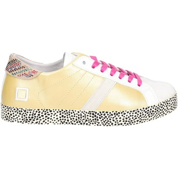 Chaussures Femme Baskets basses Date HILL LOW-22E Or