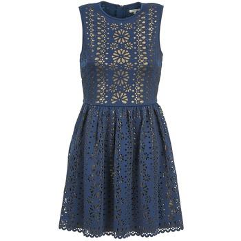 Robes Manoush NEOPRENE Bleu / Or 350x350