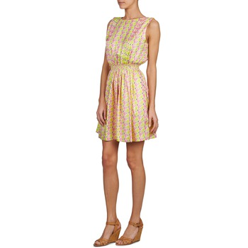 Vêtements Femme Courtes Manoush Flamingo Rose FluoJaune Robes PZOkXiu