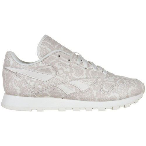 Chaussures Femme Baskets basses Reebok Sport Leather Snake Beige