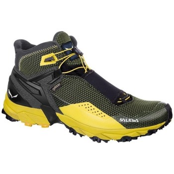Chaussures Homme Baskets montantes Salewa MS Ultra Flex Mid Gtx Noir-Jaune