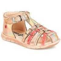 Chaussures Fille Sandales et Nu-pieds GBB PERLE TTS ROSE METAL-FLUO DPF/NEMO