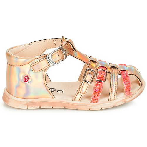 Metal pieds fluo Sandales Et Chaussures nemo Gbb Nu Rose Dpf Tts Fille Perle IY29WEHD