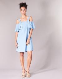 Vêtements Femme Robes courtes Guess RACUNO Bleu