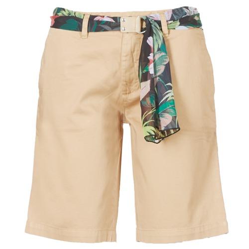 Vêtements Femme Shorts / Bermudas Guess BENARIO Beige