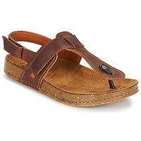 Chaussures Femme Sandales et Nu-pieds Art WE WALK Marron