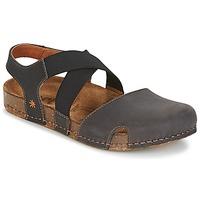 Chaussures Femme Sandales et Nu-pieds Art WE WALK Gris / Noir