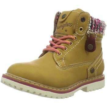 Chaussures Fille Bottines Wrangler wg17230 tan