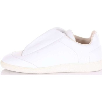 Chaussures Homme Baskets basses Maison Margiela S37WS0275 Sneakers Homme Blanc Blanc