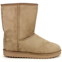 Chaussures Femme Boots Cendriyon Bottines Beige Chaussures Femme, Beige