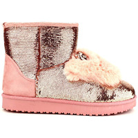 Chaussures Femme Boots Cendriyon Bottines Rose Chaussures Femme Rose