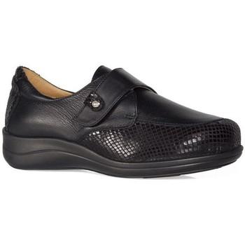 Chaussures Femme Derbies & Richelieu Calzamedi CHAUSSURES  TEXTURE STRETCH W BLACK