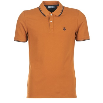 Vêtements Homme Polos manches courtes Selected SEASON Marron