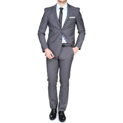 Vêtements Homme Costumes  Pascal Morabito Pm196 Alan Grey Gris