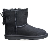 Chaussures Fille Boots UGG K Mini Bailey Bow 2 1017397 K / Black Noir