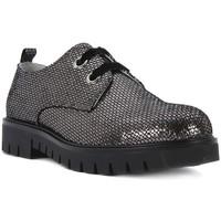 Chaussures Fille Derbies Nero Giardini MP NERO GIARDINI  MERCURY VIP CARBONE Grigio