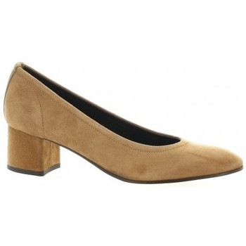 Chaussures Femme Escarpins Elizabeth Stuart Escarpins cuir velours Cognac