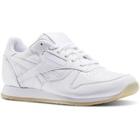 Chaussures Femme Baskets basses Reebok Sport CL Lthr Crepe Neutral Pop blanc