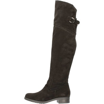 Chaussures Femme Bottes ville Donnapiu' DONNAPIU' 6590 Botte Femme Noir Noir