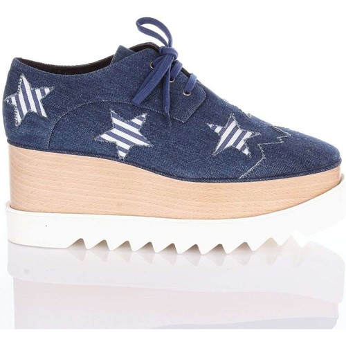 Stella Mc Cartney 468238W1A43 Chaussures classiques Femme Jean bleu Jean bleu - Chaussures Derbies Femme