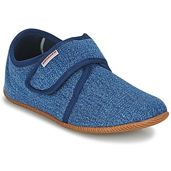 Chaussures Enfant Chaussons Giesswein Senscheid Bleu