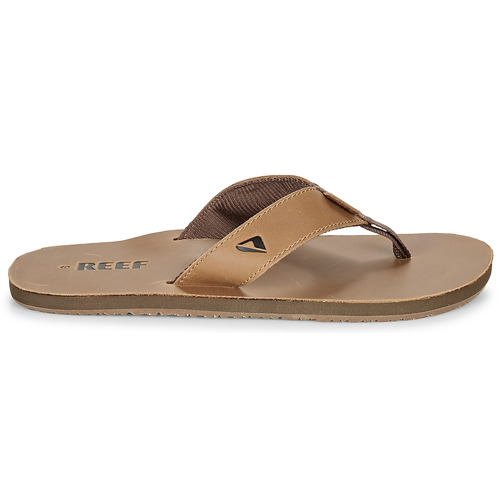 Reef Marron Tongs Smoothy Homme Leather 43LARq5j