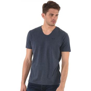 Vêtements Homme T-shirts manches courtes Kaporal T-Shirt  Salva Bleu Mélangé 19