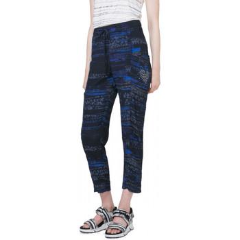 Vêtements Femme Pantalons 5 poches Desigual Pantalon Vermont Noir 72P2EG1 38