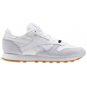 Chaussures Homme Baskets basses Reebok Sport CL LEATHER SPP WHITE GREY BLACK blanc
