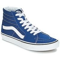 Chaussures Baskets montantes Vans SK8-Hi estate blue/true white