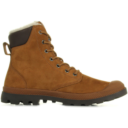 Chaussures Homme Boots Palladium Pampa Sport Wps Mahogany Chocolate marron