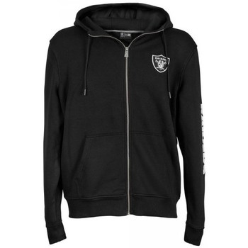 Vêtements Homme Vestes de survêtement New Era Veste Zippé NFL Oakland Raiders  Team Apparel Noir Noir